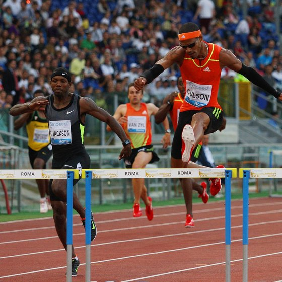 The hip flexors play a huge role in sprinting and jumping hurdles.