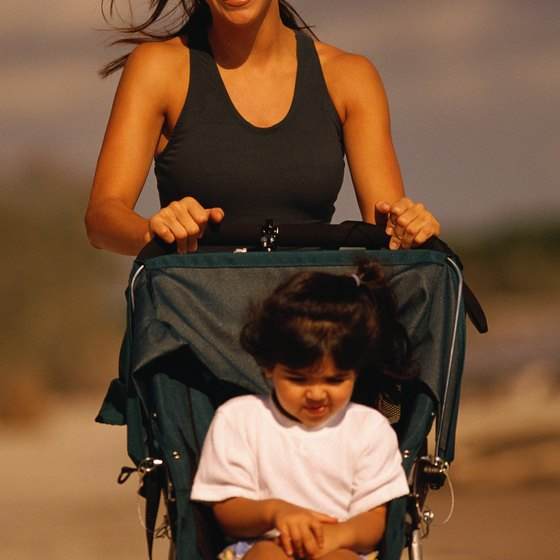 A jogging stroller is a must-have for running mamas.