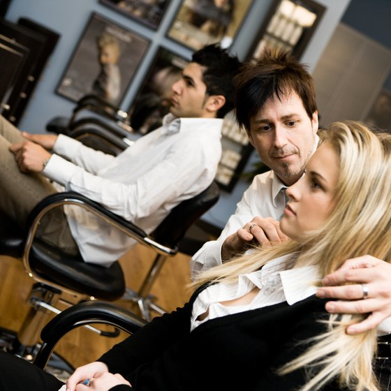 Proper lighting is vital to finding the right hair color for clients.