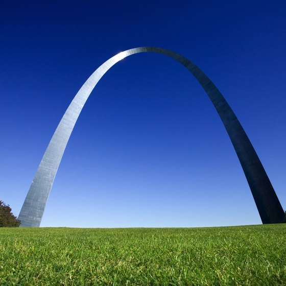 The Gateway Arch is about four miles from the hospital in the heart of downtown.
