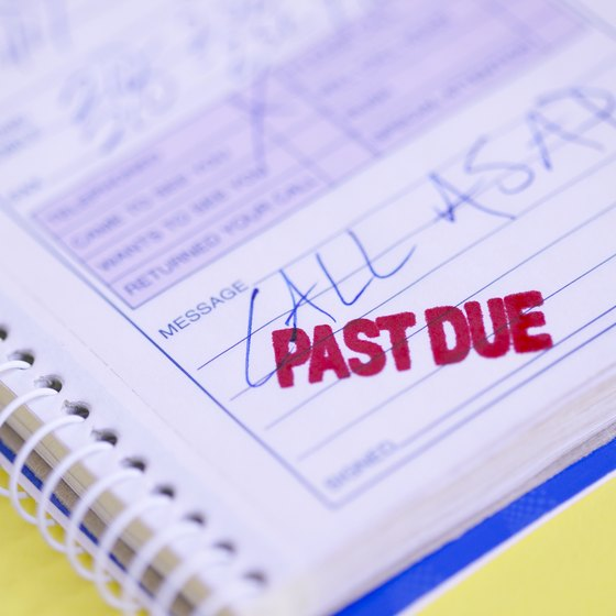"Make sure clients know you have a system for turning ""past due"" into ""paid."""