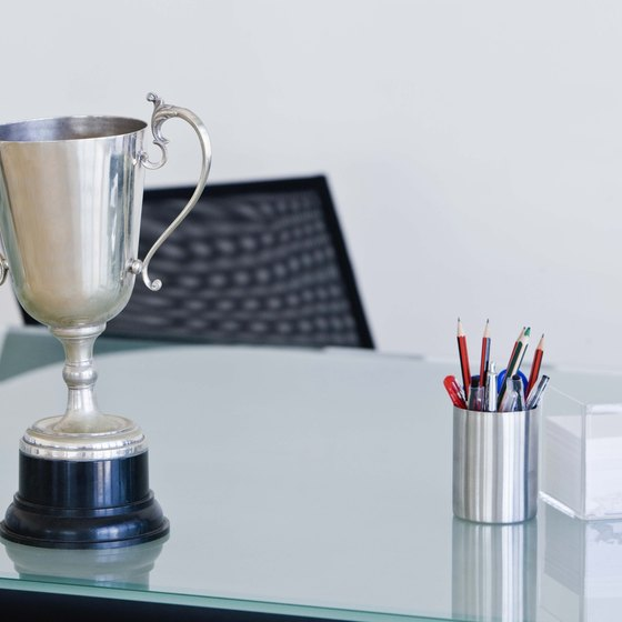 Salespeople are often motivated by awards and recognition in addition to their monetary compensation.
