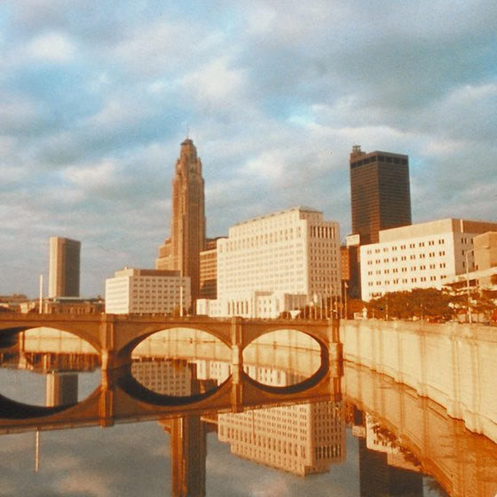 Columbus, Ohio's state capital, is an easy day trip from Lancaster.