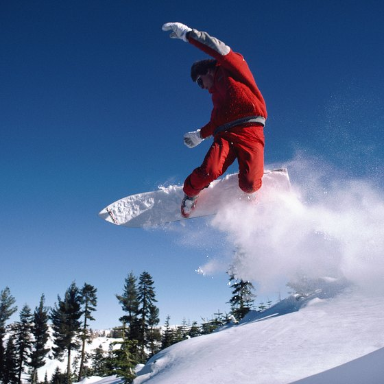 Northern California has many resorts that welcome snowboarders on a budget.