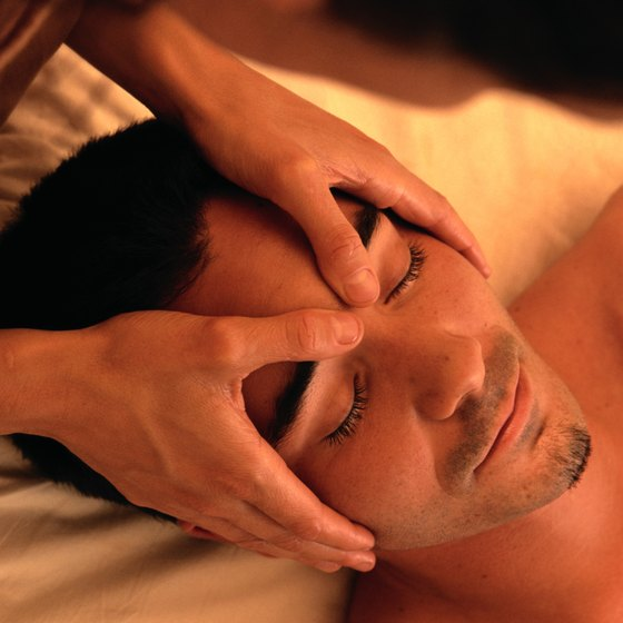 Massage can help keep your facial muscles healthy.