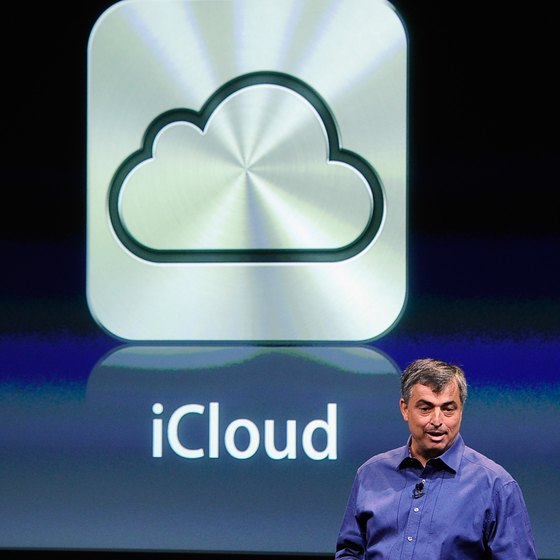 Apple's iCloud service provides virtual storage.