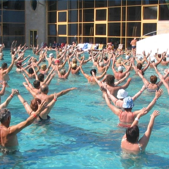 Water Aerobics is a Great, Low-Impact Exercise Choice