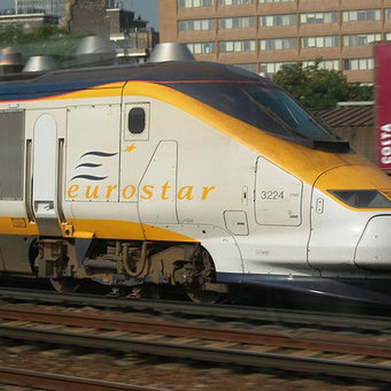 Eurostar travels between England and France.