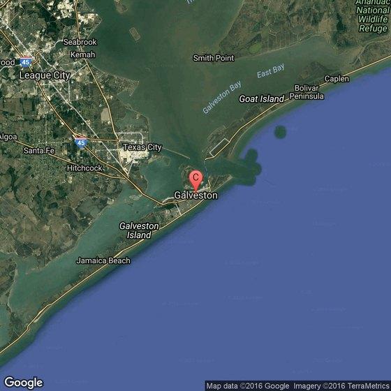 Beaches Near Houston Texas USA Today - Houston map usa