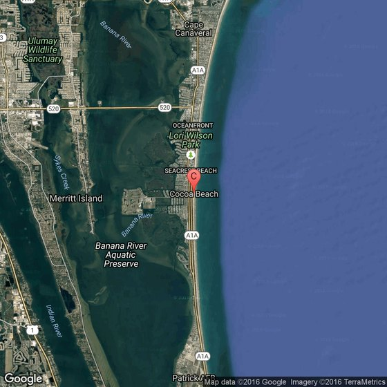Beaches Near Port Canaveral USA Today - Where is port canaveral