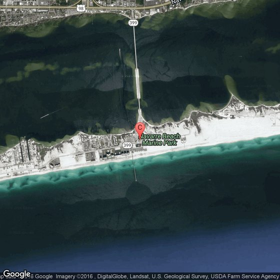 Navarre Beach Florida For Tourists Usa Today
