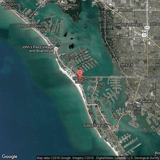 Google Treasure Island Florida