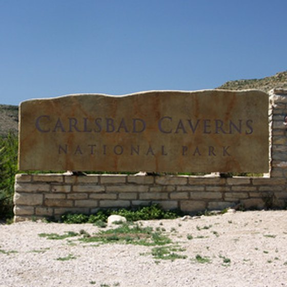 Carlsbad Caverns National Park is in the Guadalupe Mountains in southeastern New Mexico.