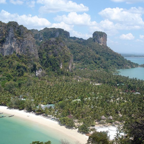 Hills, trails and beaches await motorcycle tourists in Thailand.
