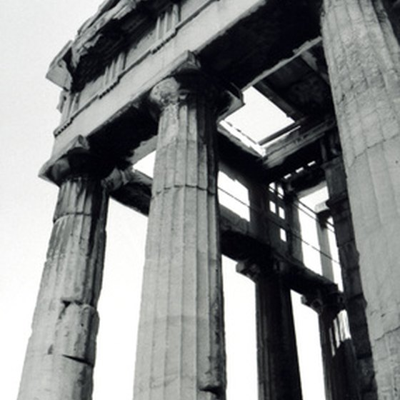 The ruins of ancient Greek temples draw visitors to Athens from around the world.