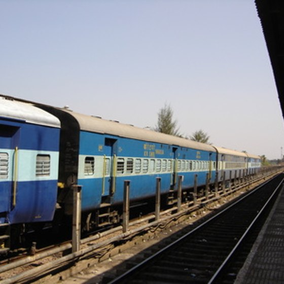 Indian sleeper class train