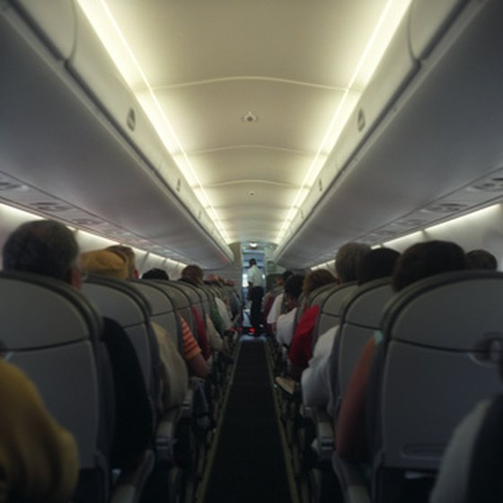 Airline employment allows for frequent travel.