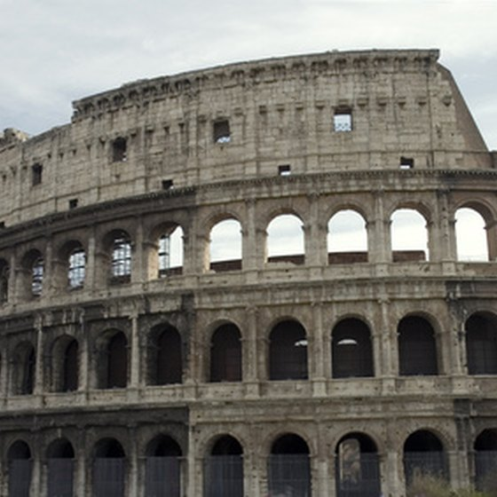 The Colosseum is part of the rich culture and traditions in Rome.