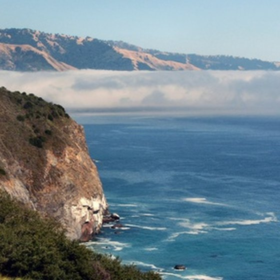 Big Sur's July daytime highs average 68 degrees.