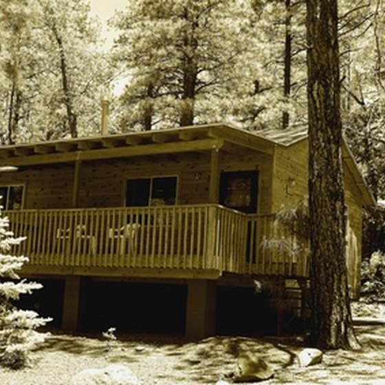 Youth retreat cabins offer a variety of amenities.