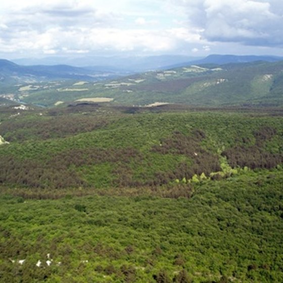The Great Smoky Mountain region is largely undeveloped.
