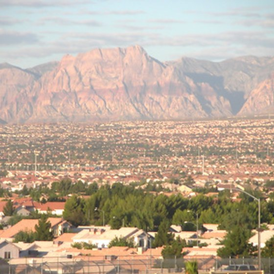 Summerlin was built near the Red Rock Mountains in Clark County, Nevada.