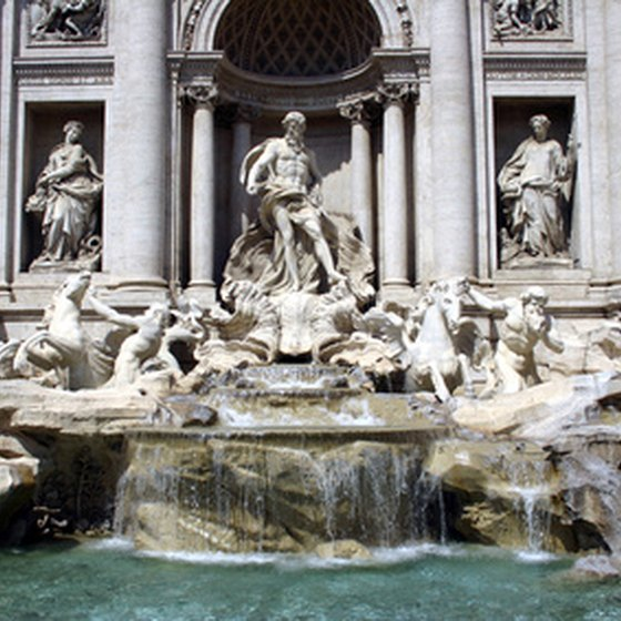 Rome's Trevi Fountain is the most famous of all.