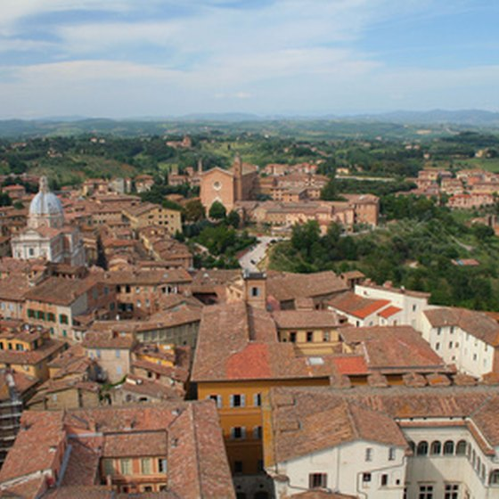 A view of historic Siena