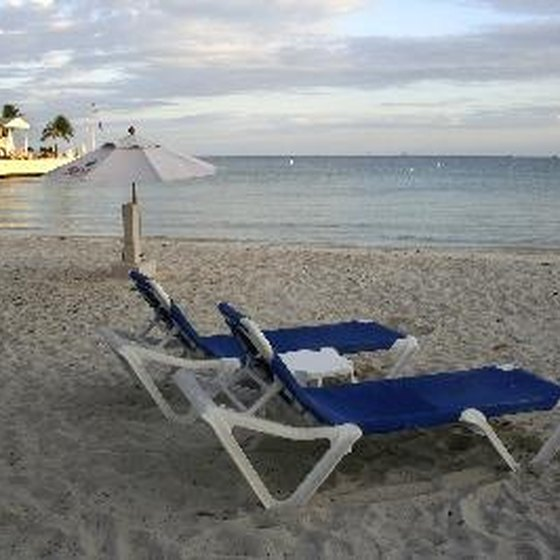 Private beach access at many Key West resorts allows guests to escape the crowds at public beaches.