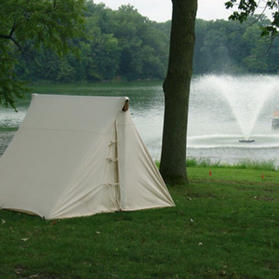 Camping can be a very comfortable experience if you take along the right equipment.