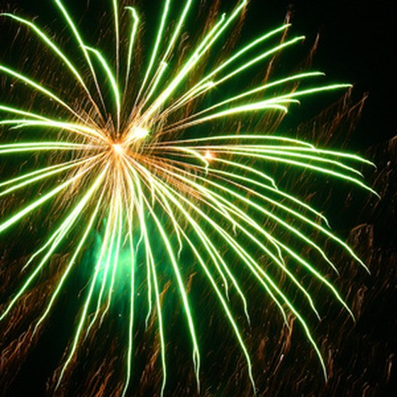 Atlanta hosts several fireworks shows on New Year's Eve.