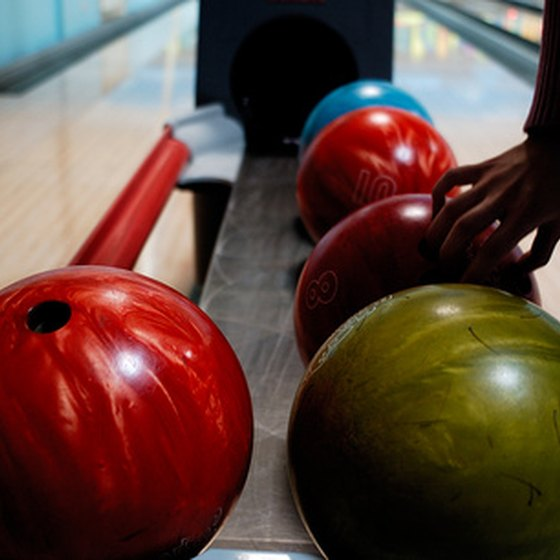 Several Las Vegas hotels offer bowling alleys.