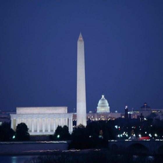 Most every tour group in Washington, D.C., features a nighttime tour.