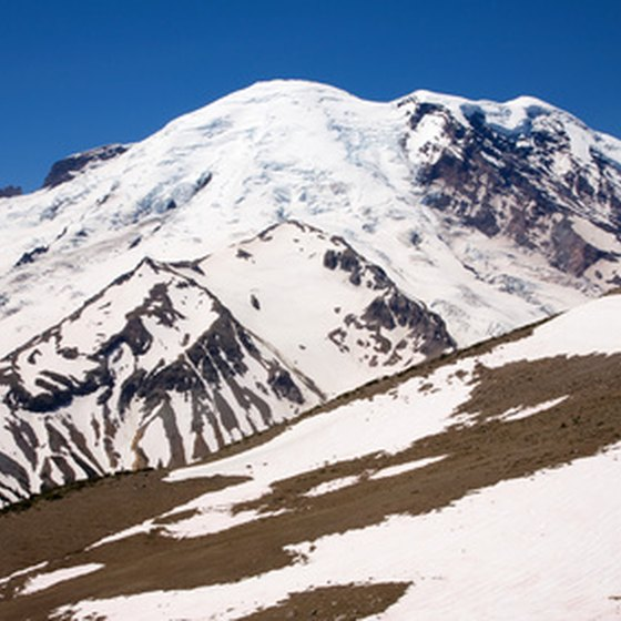 Mount Rainier National Park is one of several in the Pacific Northwest.