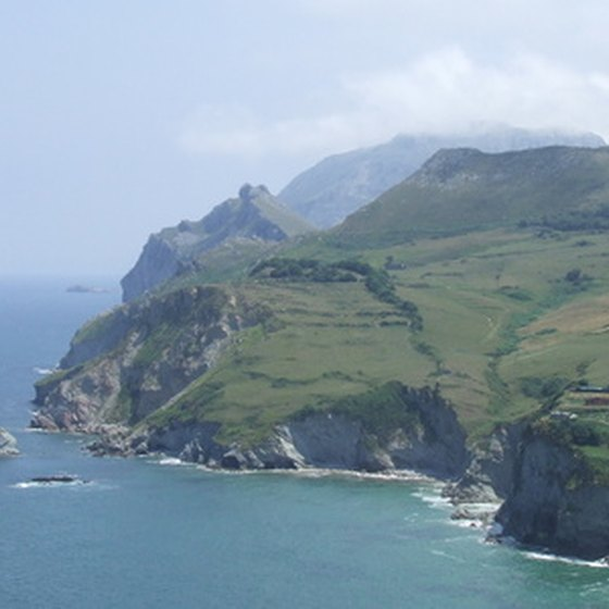 "The northern region of Cantabria is known as ""Green Spain."""