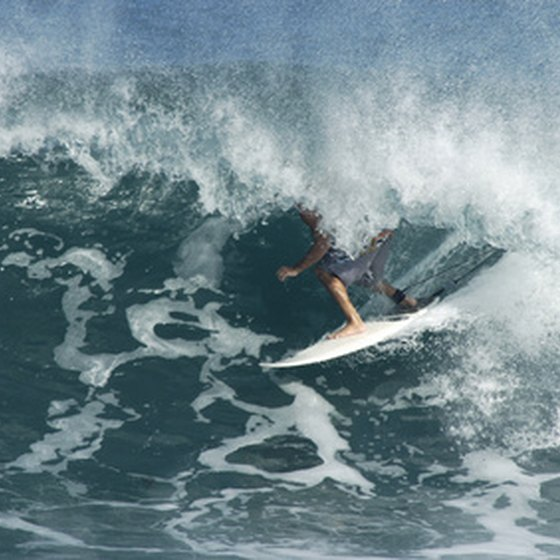 Surfing is just one of the many activities you can enjoy when you're not relaxing in your Kauai hotel.