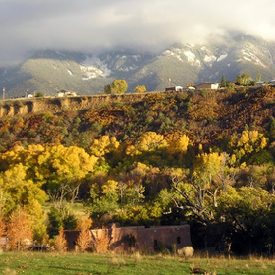 There are four seasons of outdoor recreation opportunities in New Mexico.