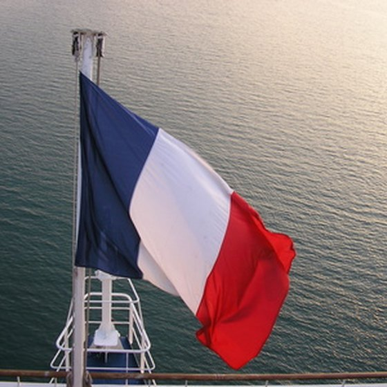 The French flag is also known as the tricoleur.