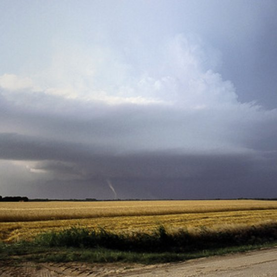 View of a Kansas Field
