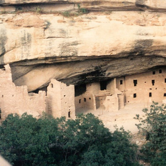 Gila Cliff Dwellings National Monument in New Mexico.