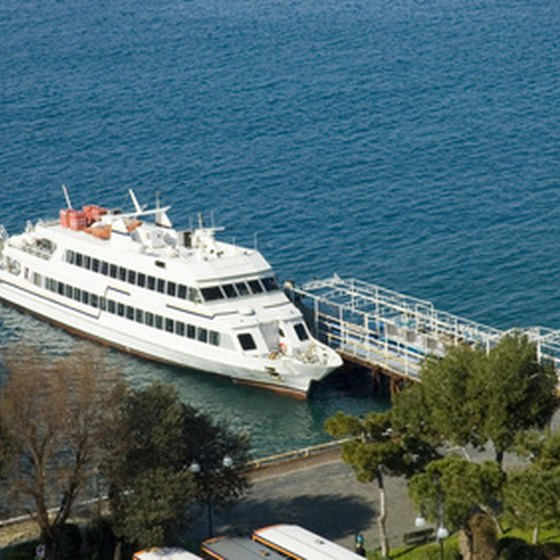 The Mediterranean Sea is a popular destination for the cruise industry.