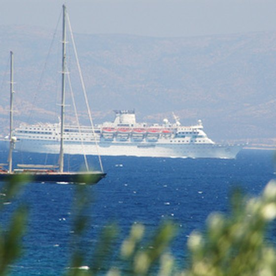 Take a cruise to southern Europe.