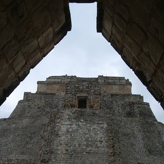 Near Merida is the archaeological site of Uxmal, one of the great cities of the Mayan empire.