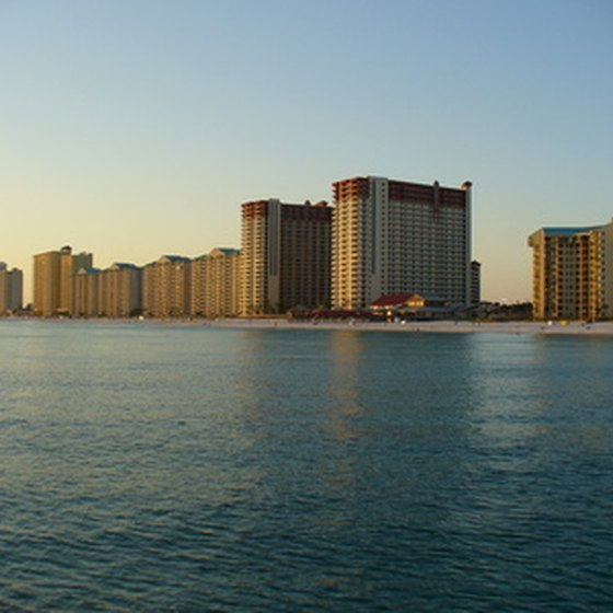 Panama City Beach is known for its white-sand beaches.