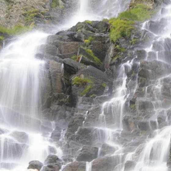 Most waterfalls are natural works of art. In 2008, New York hosted four man-made works of waterfall art.