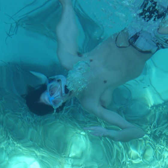 Snorkeling is one of the easiest ways to explore a coral reef.
