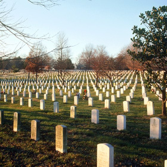 Visit Arlington National Cemetery when staying near Key Bridge, VA.