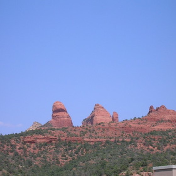 Sedona is in Oak Creek Canyon.