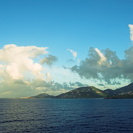 The waters off St. Vincent provide the islands with fresh seafood.