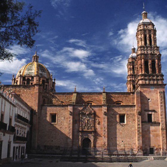 San Miguel de Allende is noted for its Spanish colonial architecture.